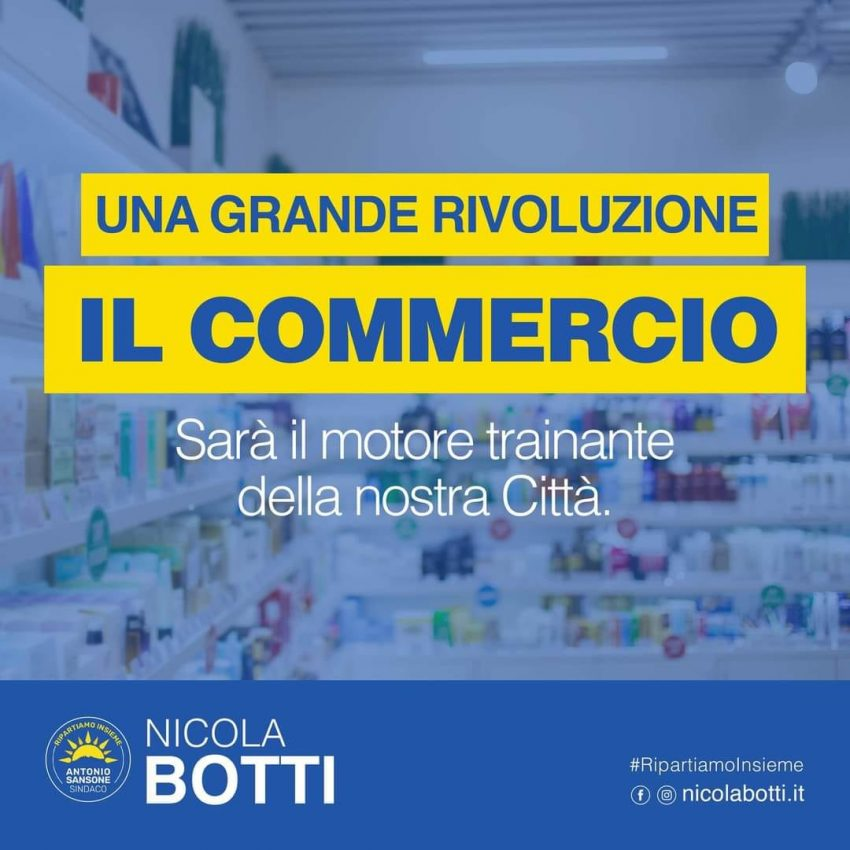 Nicola Botti commercio Vallo della Lucania